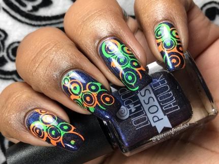 The Beat of My Heart - w/ nail art