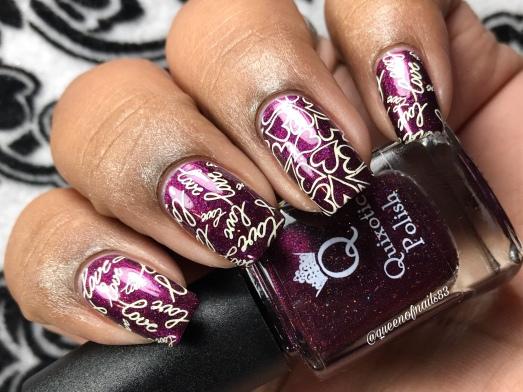 Still my Valentine (Feb COTM) - w/ nail art
