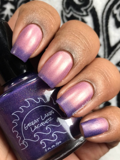 Great Lakes Lacquer - Not for Consumption - w/ matte tc