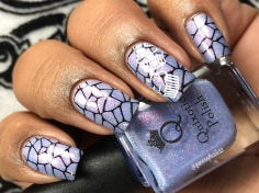 Quixotic - Sweet Dreams Are Made of These - w/ nail art