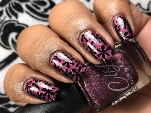 Burning Down the House - w/ nail art