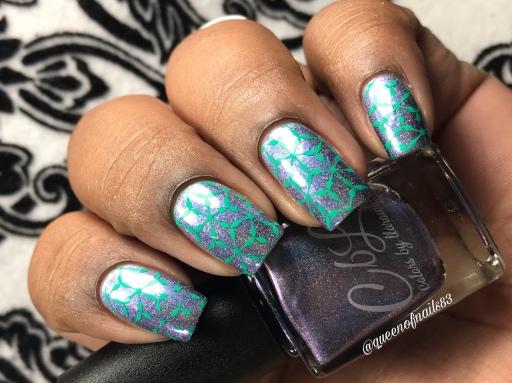 80 Degrees - w/ nail art