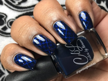Fast Cars & Rowdy Bars - w/ nail art
