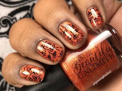 Frickety Frack! - w/ nail art