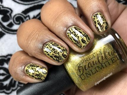Please Pass the Butter! - w/ nail art