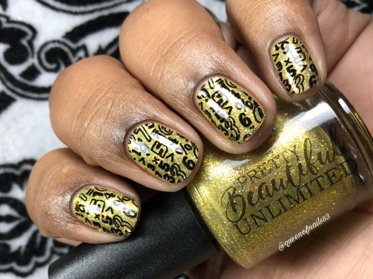 Please Pass the Butter! - w/ nail art