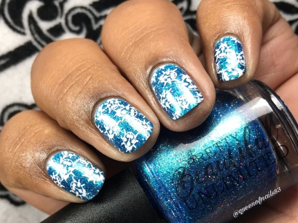 I'm Not Crazy, My Mother Had Me Tested - w/ nail art