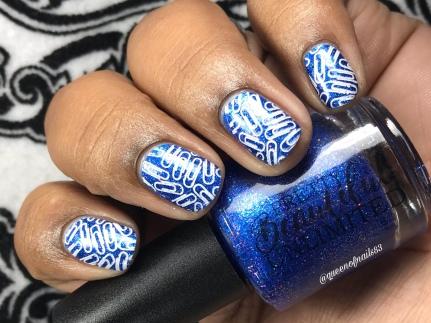 Tushy Face - w/ nail art