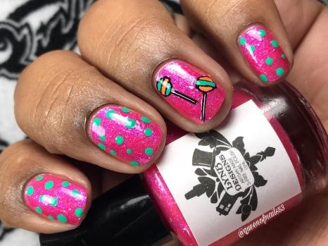 LynB Designs - Saccharin Breeze - w/ nail art