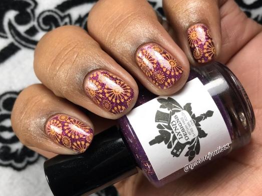 L'amethyste - w/ nail art