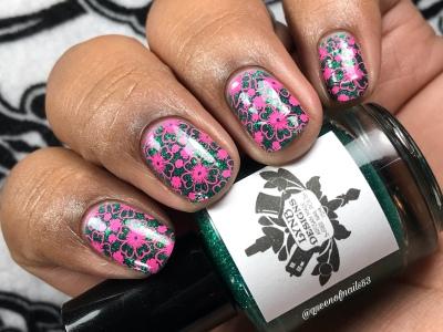 I Never Freeze - w/ nail art