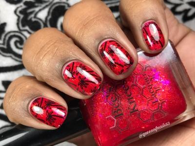 Badass - w/ nail art