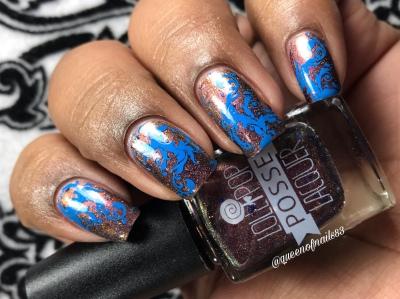 Can't Break Free - w/ nail art