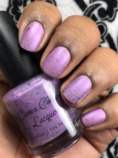 "Cameo Colours Lacquers - ""Noble Land Mermaid"" - w/ matte tc"