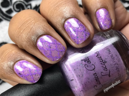 """Cameo Colours Lacquers - """"Noble Land Mermaid"""" - w/ nail art"""