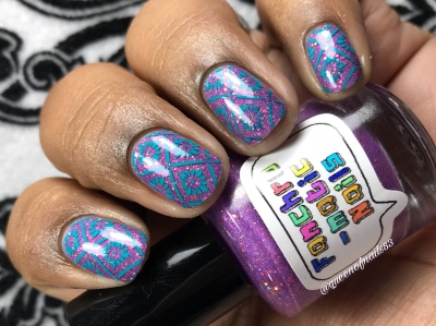 More Human Than Human - w/ nail art