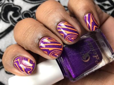 Mind That Mullet - w/ nail art