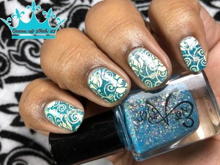 O-Pa-Leez - w/ nail art
