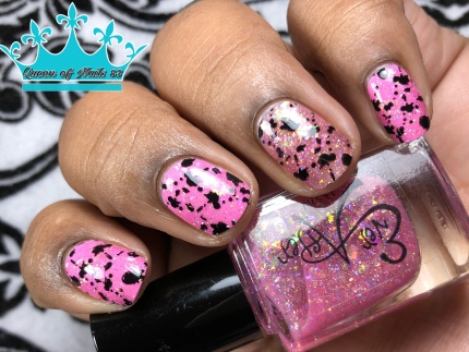 You Can't Sit With Us - w/ nail art