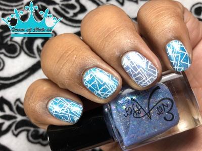 Opa! L - w/ nail art