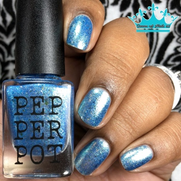 Pepper Pot Polish - Pixies & Spriggans & Sprites, Oh My! - w/ glossy tc