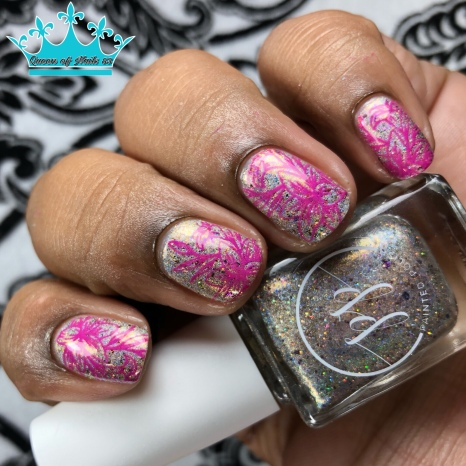 Here to Paddy - w/ nail art