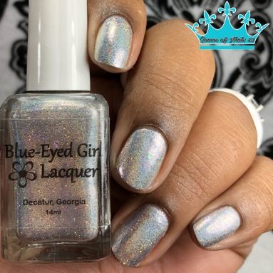 Blue-Eyed Girl Lacquer - Because My Character - w/ glossy tc