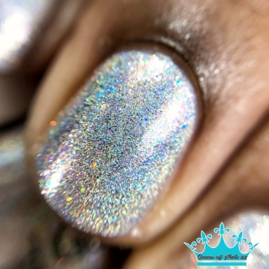 Blue-Eyed Girl Lacquer - Because My Character - macro