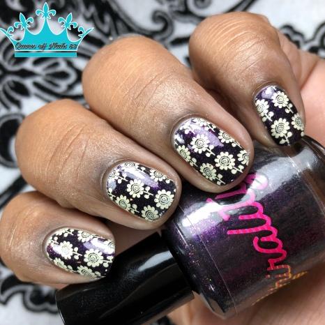 Chirality - Shug's Purple - w/ nail art