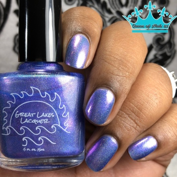Great Lakes Lacquer - Time is a Face on the Water - w/ glossy tc
