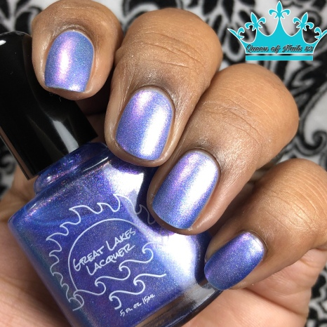 Great Lakes Lacquer - Time is a Face on the Water - w/ matte tc