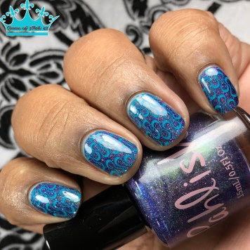 Pahlish - The Land of Tears - w/ nail art