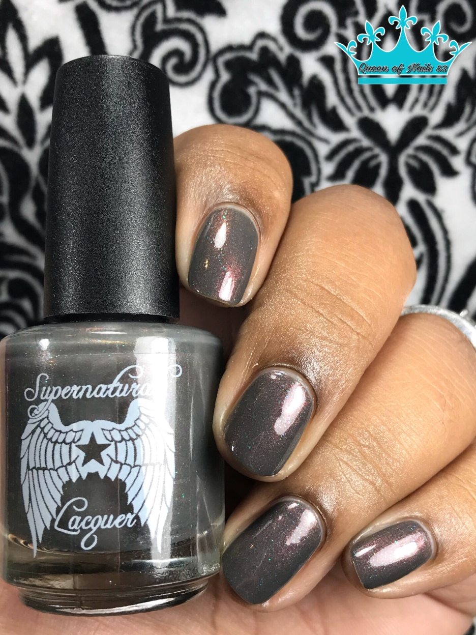 Supernatural Lacquer - Smells Like Teen Spirit - w/ glossy tc