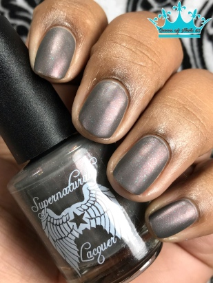 Supernatural Lacquer - Smells Like Teen Spirit - w/ matte tc
