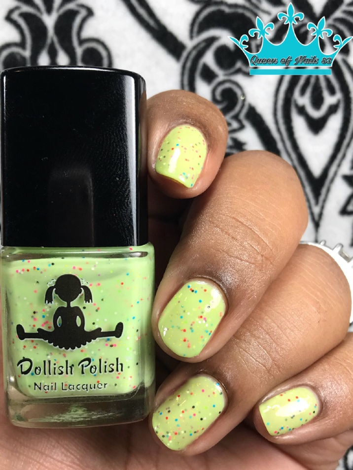 Dollish Polish - Summer of Love - w/ glossy tc
