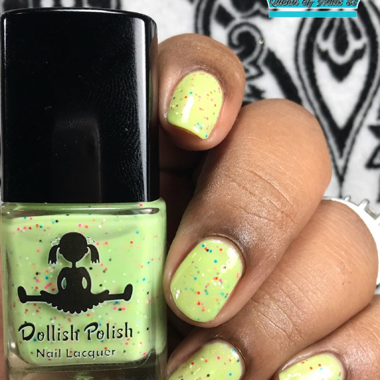 Dollish Polish - Summer of Love - w/ glossy tc