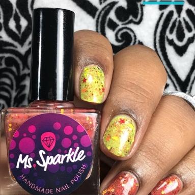 Ms. Sparkle - Girls Wanna Have Fun - w/ glossy tc