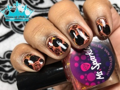 Ms. Sparkle - Girls Wanna Have Fun - w/ nail art