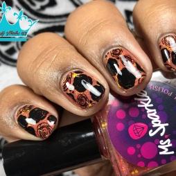 Ms. Sparkle - Girls Wanna Have Fun - w/ nail art