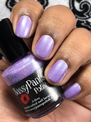 Sassy Pants Polish - Cure - w/ matte tc