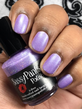 Sassy Pants Polish - Cure - w/ matte tc