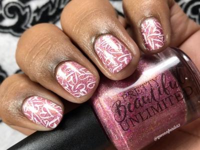 Pretty Beautiful Unlimited - Hope - w/ nail art