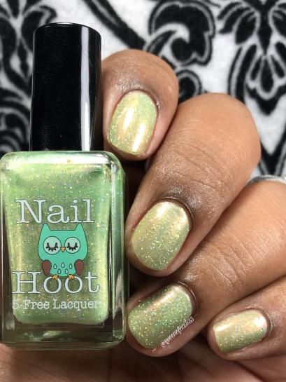 Nail Hoot - Faith - w/ glossy tc