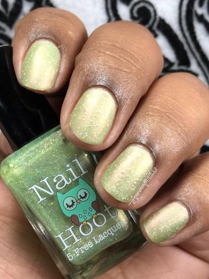 Nail Hoot - Faith - w/ matte tc