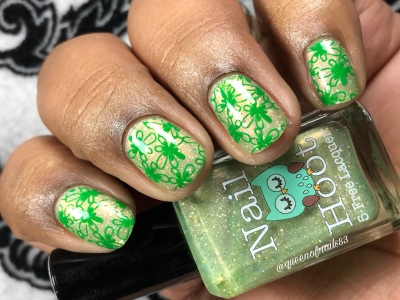 Nail Hoot - Faith - w/ nail art