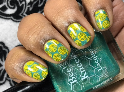 Bee's Knees - Joy in the Little Things - w/ nail art