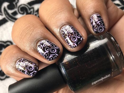 Necromantic - w/ nail art