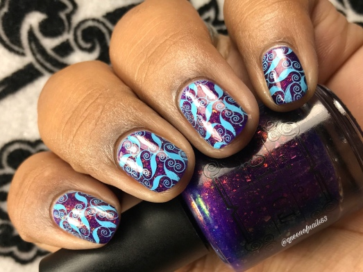 Bauble - w/ nail art