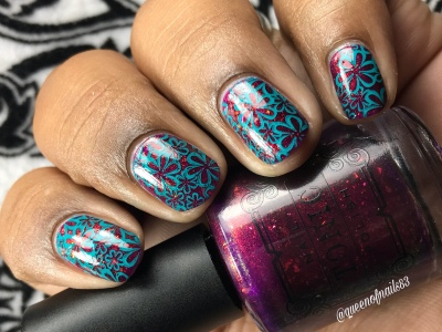 Happenstance - w/ nail art