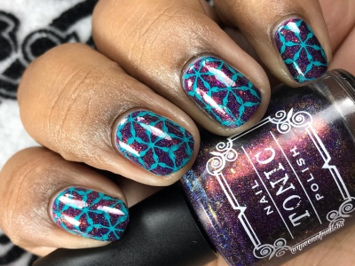 Fig-ure it Out - w/ nail art